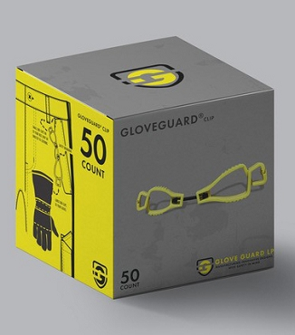 (50 Pack) Glove Guard® clips