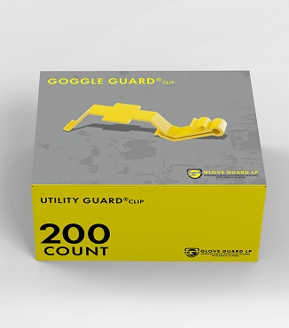 (200 Pack) Goggle Guard® clip