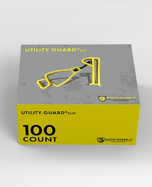 (100 pack) Utility Guard® clips