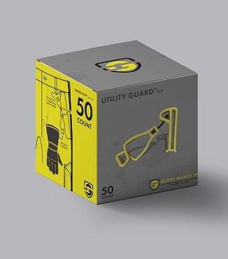 (50 pack) Utility Guard® clips