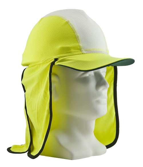 Gobi Hat in Micro-Mesh, Yellow